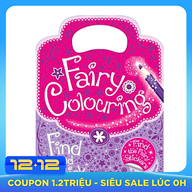Sách tô màu Fairy Colouring Find and Stick