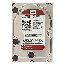Ổ Cứng HDD Western Digital Red SATA III 2TB/64MB/5400RPM Cache - Hàng chính hãng