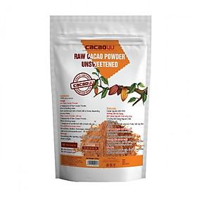 Bột cacao hỗ trợ giảm cân nguyên chất không đường Cacao4U - CC1.2 Túi 220gr