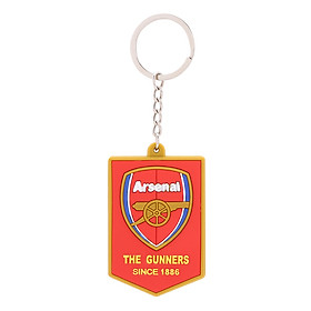 Móc Khóa Nhựa Dẻo Đúc Nổi Hình Biểu Tượng Clb Bóng Đá Arsenal