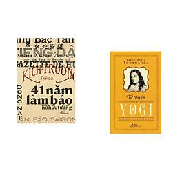Combo 2 cuốn sách: 41 năm làm báo + Tự truyện của một Yogi