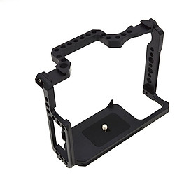 Metal Camera Video Shooting Rig Cage with 1/4'' Screw Holes 3/8'' Screw Holes for Canon 5D Mark II III IV 5Ds