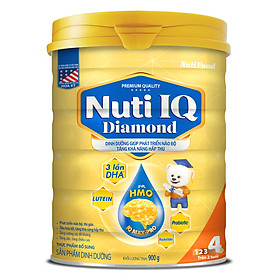 Sữa Bột Nuti IQ Diamond Số 4 (900g/Hộp)