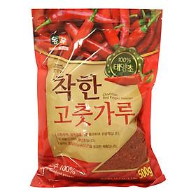 Bột ớt Nhập Khẩu Hàn Quốc Nongwoo (500g)