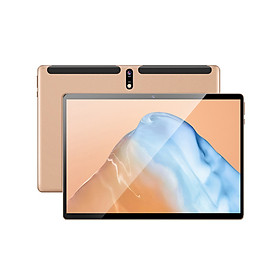 10.1inch Android Tablet 3GB+32GB/Octa-core Processor/ IPS HD Display/ 2.5D Curved Screen/ Android 9.0 OS/ WIFI&BT Gold