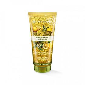 Gel Tắm Làm Sạch Tế Bào Chết Yves Rocher Lemon Basil Exfoliating Shower Gel 200ml