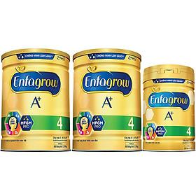 Combo 2 Lon Sữa Bột Enfagrow A+ 4 (1.75kg) - Tặng Lon Sữa Bột Enfagrow A+ 4 (870g)