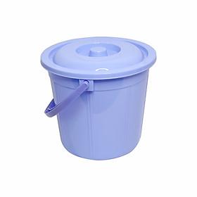 Xô nhựa có nắp có quai Chấn Thuận Thành - đựng đồ, thức ăn, nước dung tích 16 Lít tiện dụng XO16L20-CN (Nhiều màu)