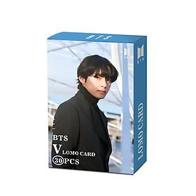 Lomo card V BTS