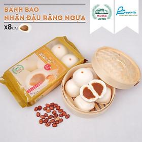 [Chỉ Giao HCM] BÁNH BAO NHÂN ĐẬU RĂNG NGỰA SINGAPORE 280G/ 8 bánh