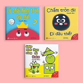 Bộ 3 cuốn sách Ehon cho bé từ 0 - 6 tuổi - ĐIỀU KỲ DIỆU CỦA HÌNH KHỐI