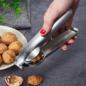 2 trong 1 không gỉ thép hạt dẻ kẹp hạt có thể mở biscuit -cối xay walnut plier
