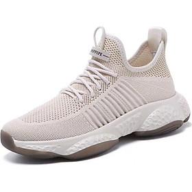 Giày Sneaker Nam Đế Cao Su Siêu Nhẹ, Vải Thoáng Khí G07