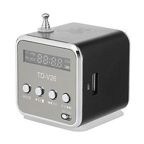 3.5mm Wired Mini Speaker Portable MP3 Player FM Radio Music Amplifier Support TF Card U Disk Loudspeaker for DVD Laptop