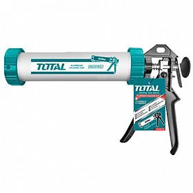 Súng bơm silicol ống nhôm Total THT20109