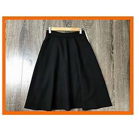 Chân váy XÒE ngang gối- mặc với áo gì cũng dáng chuẩn