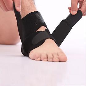 Băng quấn cổ chân 2 KHÓA dính, đai bảo vệ mắt cá chân dễ điều chỉnh cao cấp - POKI