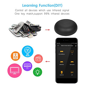 TUYA Wifi Smart IR Remote Controller for Smart Home Compatible with Alexa Google Home Universal Intelligent App Remote