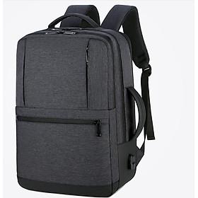 Ba lô nam thời trang cao cấp phong cách châu âu chứa laptop 15,6 inh