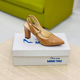 [ Shop giày somina ] Sandal VIP bít mũi 7cm MT154