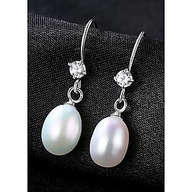 Bông tai bạc ngọc trai S925 B2369-Bảo Ngọc Jewelry