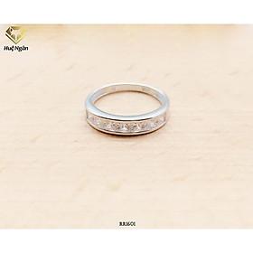 Nhẫn bạc Ý 925 Huệ Ngân - mẫu dày size to RR1601-N