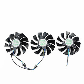 3PCS 87MM GA92S2U 4PIN DC12V 0.46A 2080Ti AMP Cooling Fan For ZOTAC GAMING GeForce RTX 2080 AMP Graphics Card Video Card Fans