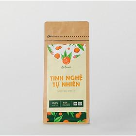 Tinh Nghệ Tự Nhiên Botanie -  Túi 250 gram - 100% Tinh bột nghệ tự nhiên, nguyên chất - Đã được điểm định chất lượng VSATTP - Hỗ trợ các vấn đề về tiêu hóa