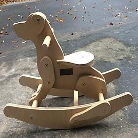 Chó gỗ bập bênh ET019