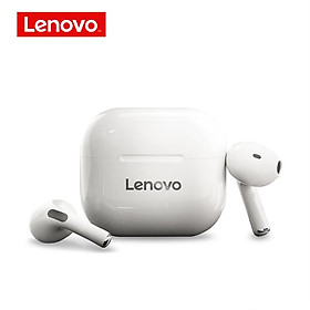 Lenovo Lp40 Tws Wireless Earphone Bluetooth 5.0 Noise Reduction Bass Touch Control Long Standby Earphones
