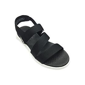 Giày Sandal Nam SHAT THM112 - Đen Trắng