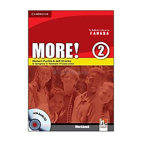 More! Level 2 Workbook with Audio CD Reprint Edition