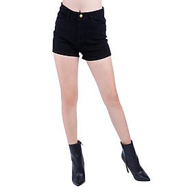 Quần Short Jeans Kaki Nữ Co Giãn JSN002 - Đen
