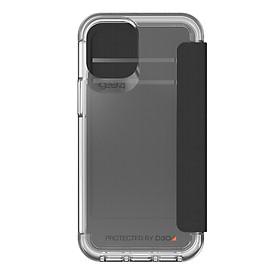 Ốp lưng Gear4 Wembley Flip iPhone - Công nghệ chống sốc độc quyền D3O, kháng khuẩn, tương thích tốt với sóng 5G - Hàng chính hãng