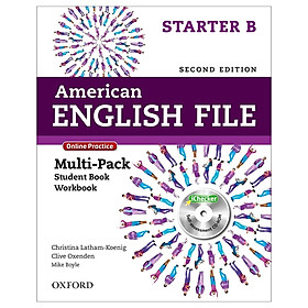 American English File Starter B Multi-Pack with Online Practice and iChecker
