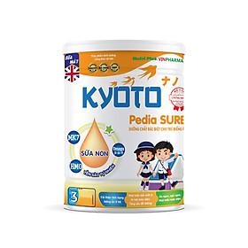 Sữa bột dinh dưỡng Kyoto PEDIA SURE sản phẩm dinh dưỡng chuyên biệt dành cho bé biếng ăn NUTRI PLUS-900G