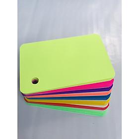 100 Thẻ Flashcard Dạ Quang 5x8cm Kèm Khoen Bìa