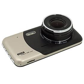 """4"""" Car DVR Dash Cam Dual Camera Reversing Recorder Video 170°FHD Camcorder"""