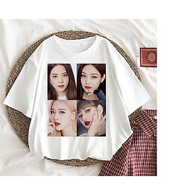Áo thun Lisa Blackpink Jisoo , Lisa ,Rose , Jennie