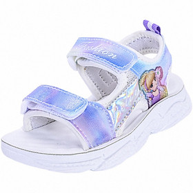 Sandal bé gái in hình công chúa - Xăng đan đi học cho bé gái - Mẫu mới THQ62