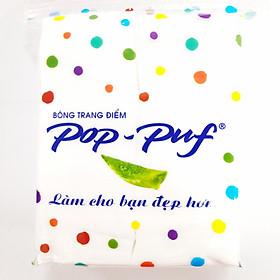 Bông Trang Điểm Pop - Puf 100 Miếng (Bao Bì Mới)