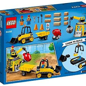 Máy Ủi Công Trình Lego 60252