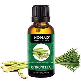 Tinh Dầu Thiên Nhiên Hương Sả Tươi Nomad Essential Oils Citronella 30ml