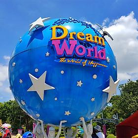 Vé Vào Cổng Dream World Bangkok - Chơi Tất Cả Các Trò Chơi + Xem Phim 4D