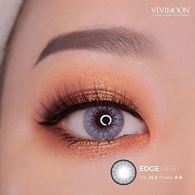 Kính áp tròng VIVIMOON Edge Gray 14.2 - 14.5 mm