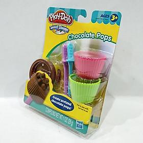 Bộ Đồ Chơi Đất Nặn Dụng Cụ Làm Kem Mini - Play-Doh 49654 - Mẫu 1 - Chocolate Pops