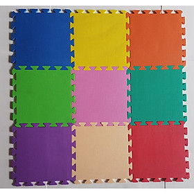 Combo 10 tấm Thảm xốp lót sàn nhiều màu Titapha 30x30x1cm