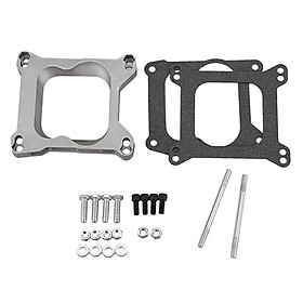 Metal + Plastic Carburetor Pad Mat + Washer -Holley SPC 9130 for Chevy Ford