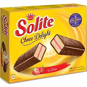 Bánh Solite tầng phủ socola 20gx14x8