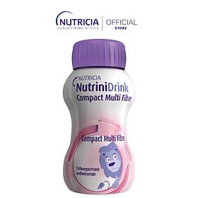 NutriniDrink Compact Multi Fibre Strawberry (lốc 4 chai)